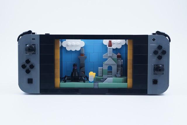 Photo:LEGO Nintendo Switch (Zelda BotW) By BrickinNick