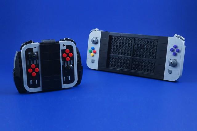 Photo:LEGO Nintendo Switch (Retro) By BrickinNick
