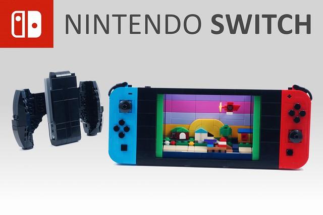 Photo:LEGO Nintendo Switch By BrickinNick