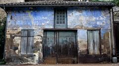 L'ancien garage bleu