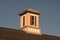 Cupola on Martinsburg roundhouse complex