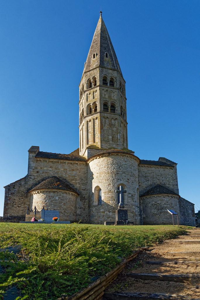 Eglise de Saint André de Bagé - Ain