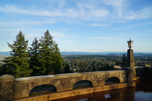 Mount Hood on a Winter's Afternoon