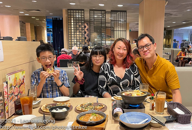 Dinner at Watami