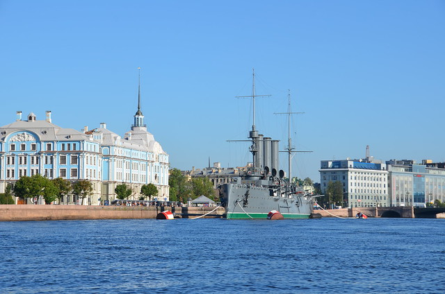 Photo:St Petersburg - Neva River Cruise (Cruiser Aurora) By hockeytiggerrr