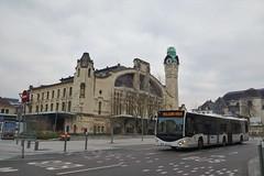 Mercedes Benz Citaro G C2 n°5318  -  Rouen, TCAR
