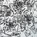 2010.01-2010.10[14] Shanghai Sanlintang Studio Pastel on paper Joint painting 上海三林塘工作室 纸上炭精条组画-39 (Sixtypies No.2 Part 六联画.二局部)