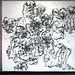 2010.01-2010.10[14] Shanghai Sanlintang Studio Pastel on paper Joint painting 上海三林塘工作室 纸上炭精条组画-38 (Sixtypies No.2  六联画.二)