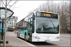 Mercedes-Benz Citaro – Athis Cars (Keolis) / STIF (Syndicat des Transports d'Île-de-France) n°099120 - Photo of Menucourt