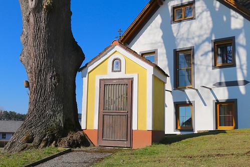 Kleingerharts. Wegkapelle, um 1760 - Rokoko
