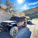 Fun weekend exploring AZ with @project.gladiator.overland