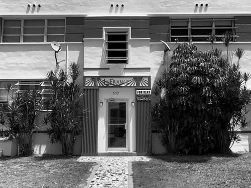 Art Deco La France Apartment Building Little Havana