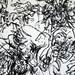 2010.01-2010.10[14] Shanghai Sanlintang Studio Pastel on paper Joint painting 上海三林塘工作室 纸上炭精条组画-49 (Quadruple  No.3 Part 四联画.三局部)