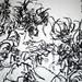 2010.01-2010.10[14] Shanghai Sanlintang Studio Pastel on paper Joint painting 上海三林塘工作室 纸上炭精条组画-48 (Quadruple  No.3 Part 四联画.三局部)