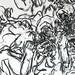 2010.01-2010.10[14] Shanghai Sanlintang Studio Pastel on paper Joint painting 上海三林塘工作室 纸上炭精条组画-55 (Quadruple  No.5 Part 四联画.五局部)