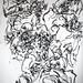 2010.01-2010.10[14] Shanghai Sanlintang Studio Pastel on paper Joint painting 上海三林塘工作室 纸上炭精条组画-52 (Quadruple No.4 四联画.四)