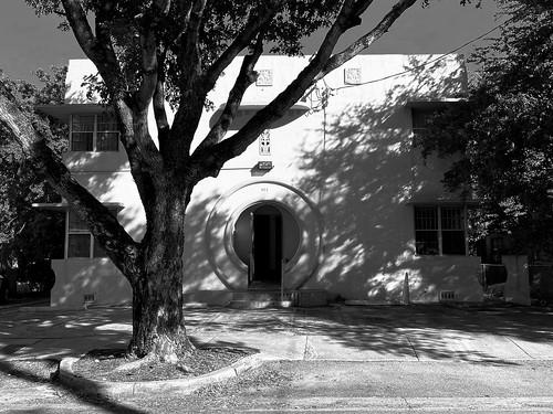 Art Deco Apartment Building Little Havana