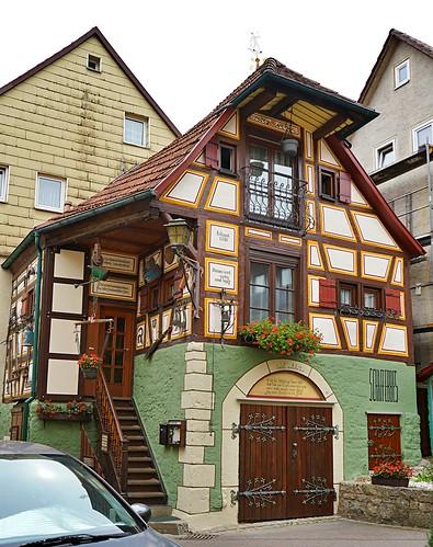 historisches Haus Künzelsau