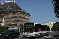 Renault Agora S – Keolis Caen Mobilités / Twisto n°106 ex TAMM (Transports de l'Agglomération de Metz Métropole) / Le Met' n°9903