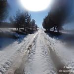 Lagunas de La Guardia (Toledo) nevadas. 13-1-2021