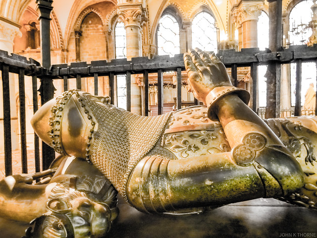 Photo:The Black Prince 1330 - 1376 Canterbury Cathedral By John K Thorne