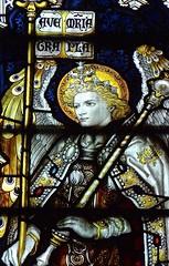 Ashbourne, Derbyshire - St Oswald's Church - Stained Glass Windows