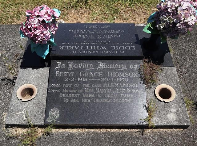 Photo:Western Lawn B, Row 2, Plot 121 By Discover Waikumete Cemetery