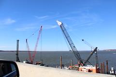Construction progress on Nice-Middleton Bridge