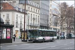 Irisbus Citélis Line – RATP (Régie Autonome des Transports Parisiens) / STIF (Syndicat des Transports d'Île-de-France) n°3021