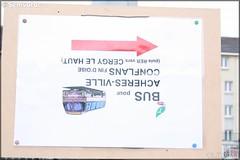 Affiche Information – Transilien SNCF / STIF (Syndicat des Transports d'Île-de-France)