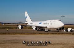 N703CK Pacific Air Cargo | Boeing 747-412(BCF) | Memphis International Airport