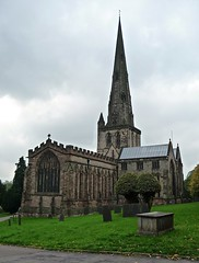 Ashbourne, Derbyshire - St Oswald's Church