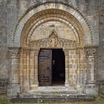 Portail de l'église de Meillers - Allier