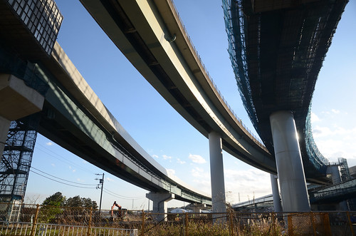 Yokohama Aoba Interchange in 2019 February: 4