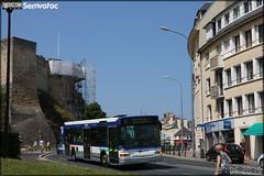 Heuliez Bus GX 317 – Keolis Caen Mobilités / Twisto n°1301