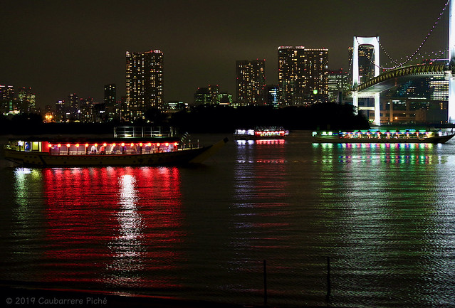 Photo:Dinner Cruise Boats in Tokyo Bay By Pix4Japan
