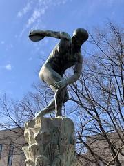 Discus Thrower sculpture, Edward J. Kelly Park, Virginia Avenue NW, Washington, D.C.