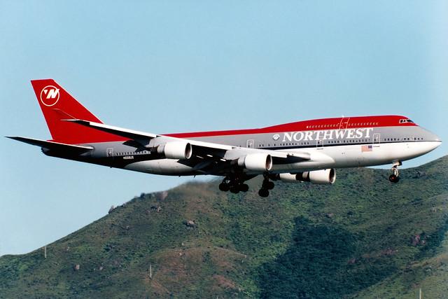 Northwest Airlines | Boeing 747-400 | N668US | Hong Kong International
