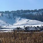 Panorámicas de la cara norte nevada de los cerros del Santo Niño. 16-1-2021
