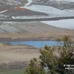 Vistas desde las alturas de las lagunas nevadas de La Guardia (Toledo)