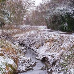 Un peu de neige mais pas assez pour tout recouvrir - Photo of Soisy-sur-Seine
