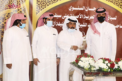 تتويج الفائزين بالرموز الفضية للحقايق بمهرجان الأمير الوالد - مساء ١٧-١-٢٠٢١
