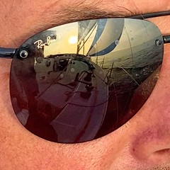 😎⛵️ #raybansunglasses #RayBanP #raybanpolarized #sailing