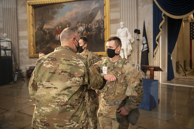 Photo:116th IBCT Soldiers support operations in Washington, D.C. By Virginia Guard Public Affairs