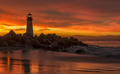 Christmas Sunrise at Walton Lighthouse