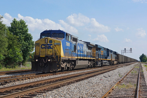 CSX 7885 Rocky Mount/North Carolina