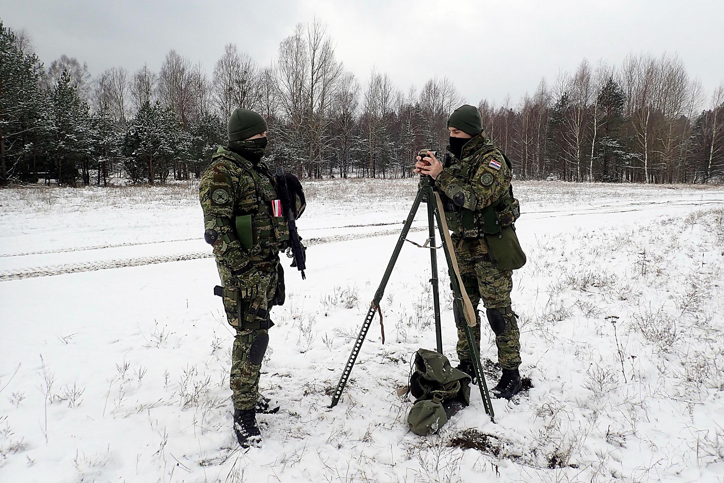 Održavanje spremnosti i interoperabilnosti 7. HRVCON-a u Poljskoj