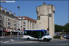 Vehixel Cytios 3/23 (Mercedes-Benz Sprinter) – Keolis Caen Mobilités / Twisto n°610