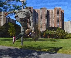 Skateboarder Bronx NY