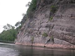 Sedimentary rock cliff [03]